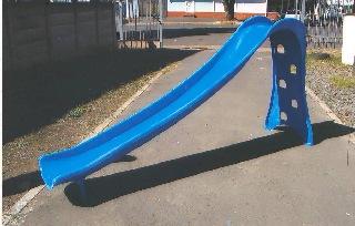 medium fibreglass pool slide